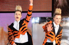 Watch: Jedward enter the Celebrity Big Brother household