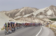 La Vuelta: Martin on the podium in Stage Four