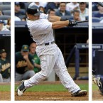 The New York Yankees became the first team to record three grand slams in a single MLB game on Thursday, when they trounced the Oakland Atheltics 22-9. Robinson Cano, Russell Marin and Curtis Granderson hit the crucial home runs.