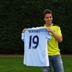 Former Arsenal midfielder Samir Nasri completed his transfer to Manchester City this week. The Frenchman praised his new club's ambition and fans after signing a four-year contract worth a reported 175,000 per week. 