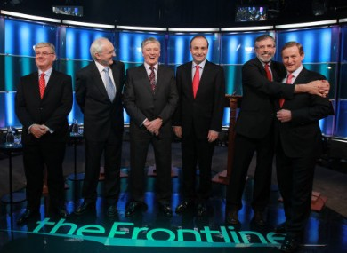 The Frontline Leaders' debate on RTE1