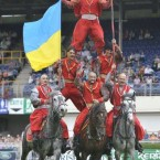 Ukrainian Cossacks perform at the RDS (Sasko Lazarov/Photocall Ireland)