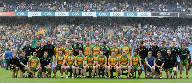 The Donegal squad 28/8/2011