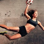 US soccer goalie Hope Solo did this promo for Nike.