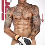 Tim Howard was in ESPN's body issue.