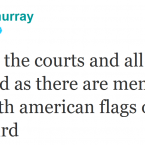 Andy Murray gets a bizarre reminder of his home nation's culture during his US sojourn.