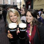 Pictured are (LtoR) Niamh O'Shea and Roisin McKenna