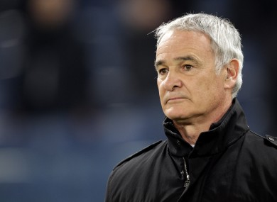 Ranieri has been out of a job since resigning as manager of Roma last February.