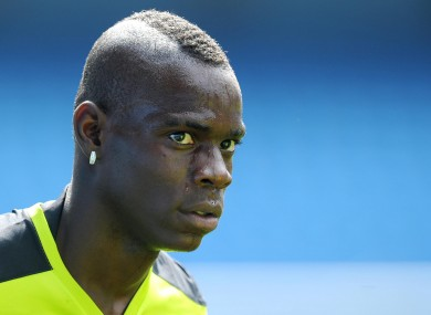 Balotelli has had a turbulent career thus far.