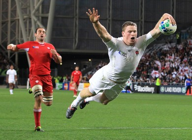 Ashton has been criticised for the manner in which he scores tries.