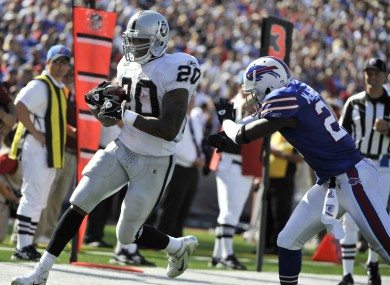 Sunday could be a big day for Raiders running back Darren McFadden.