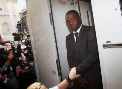 Trader Kweku Adoboli, 31, who has been charged over alleged rogue trading at UBS.