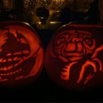 Stunning pumpkin carvings courtesy of @mister_pat