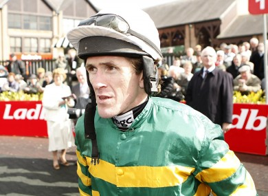 Champions jockey Tony McCoy. 