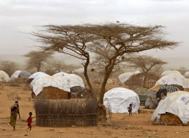 An August 2011 photo of part of the refugee camp in Dadaab, Kenya.