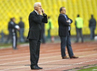 Trapattoni's men need a draw to be sure of second place.