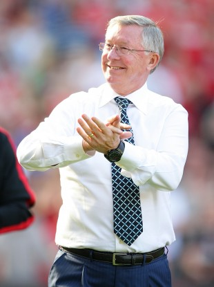 Alex Ferguson has had little to applaud at Old Trafford so far