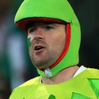 Who knew? Kermit is an Ireland fan.