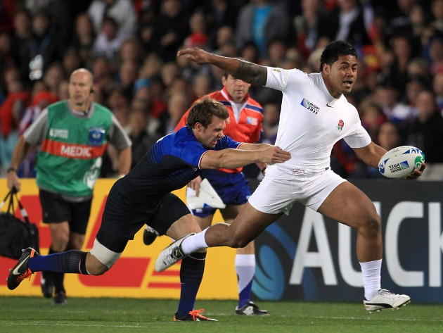Rugby Union - Rugby World Cup 2011 - Quarter Final - England v France - Eden Park