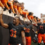 NCAA college football game in Stillwater, Okla., Saturday, Oct. 8, 2011. 