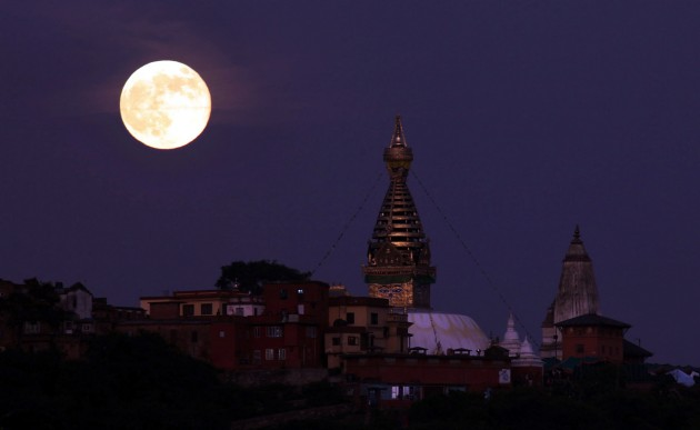 Full Moon over Nepal