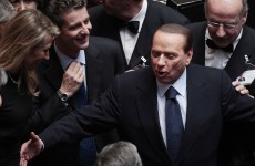 Berlusconi scrapes through confidence vote in Italian parliament