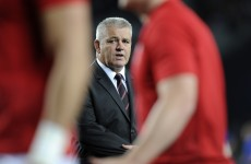 Gatland: We considered cheating