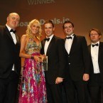 The winner of the E Business category at the Eircom Spider Awards 2011 is BoardsDeals.ie 