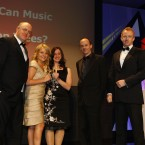 The winner of the Campaign category at the Eircom Spider Awards 2011 is Velvet Can Music grow on Trees? Ogilvy 