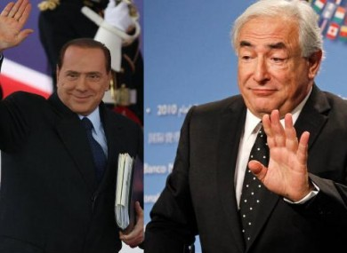 Both Silvio Berlusconi and Dominique Strauss-Kahn saw their decades-long political careers wiped out during 2011. 