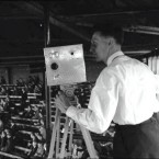 Cameraman at the 1957 All-Ireland Final