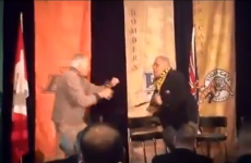 WATCH: Two 73-year-old ex-Canadian Football Players fight at Hall of Fame ceremony