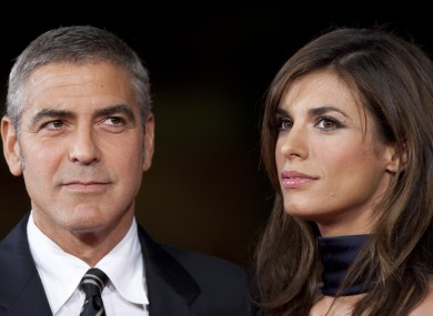 George Clooney and his ex-girlfriend Elisabetta Canalis appear on the witness list along with others.