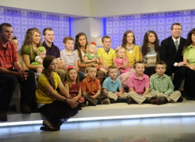 The Duggar family in June of this year