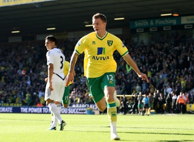 Pilkington has been one of Norwich's star players this season.