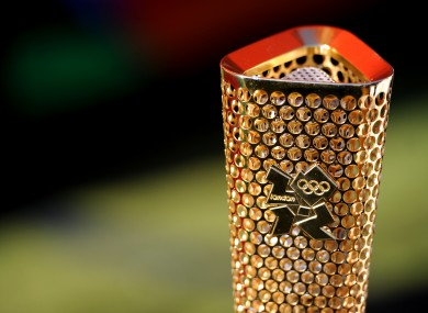 The 2012 Olympic torch could visit Dublin