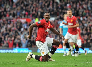 Danny Welbeck bows to the master