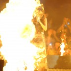 Selena Gomez on fire (Don't worry, she's grand)