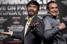 Pac-Man and Marquez get ready to rumble…