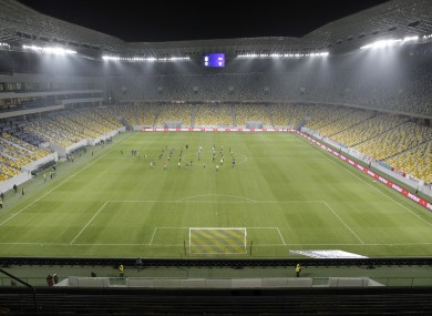 Lviv Arena stadium will play host to several matches this summer.