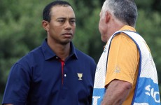 Shake on it… Tiger and Steve Williams face off at President's Cup