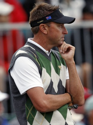Robert Allenby: not a happy man.