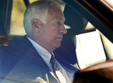 Penn State football defensive coordinator Jerry Sandusky. File photo.  
