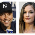 They may not be well known on this side of the pond but Friday Night Lights fans will know Minka Kelly as Lyla Garrity, while New York Yankees fans will be familiar with Derek Jeter. 