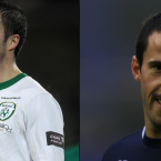 Keith Fahey leaves St Pat's. Keith Fahey experiments with a dodgy tache. Draw your own conclusions.