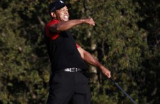 He's back: Tiger Woods ends two-year victory drought