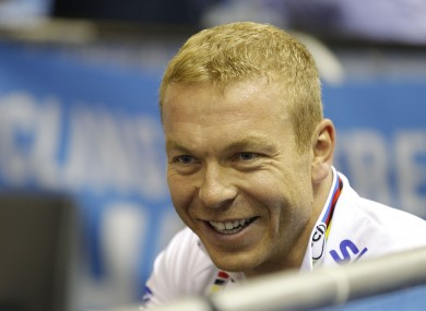 Chris Hoy: not a Premier League referee.
