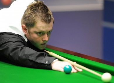 Allen takes on Marco Fu in the quarter-finals of the UK Championship tonight