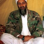 Former al Qaida leader Osama bin Laden, who was killed by Navy Seals in July. A man living in Abottabad inadvertently tweeted the death. (AP Photo)