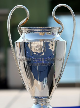 The draw for the last 16 of the Champions League has been made.